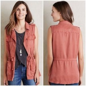 Anthropologie Sanctuary Tie Cargo Vest